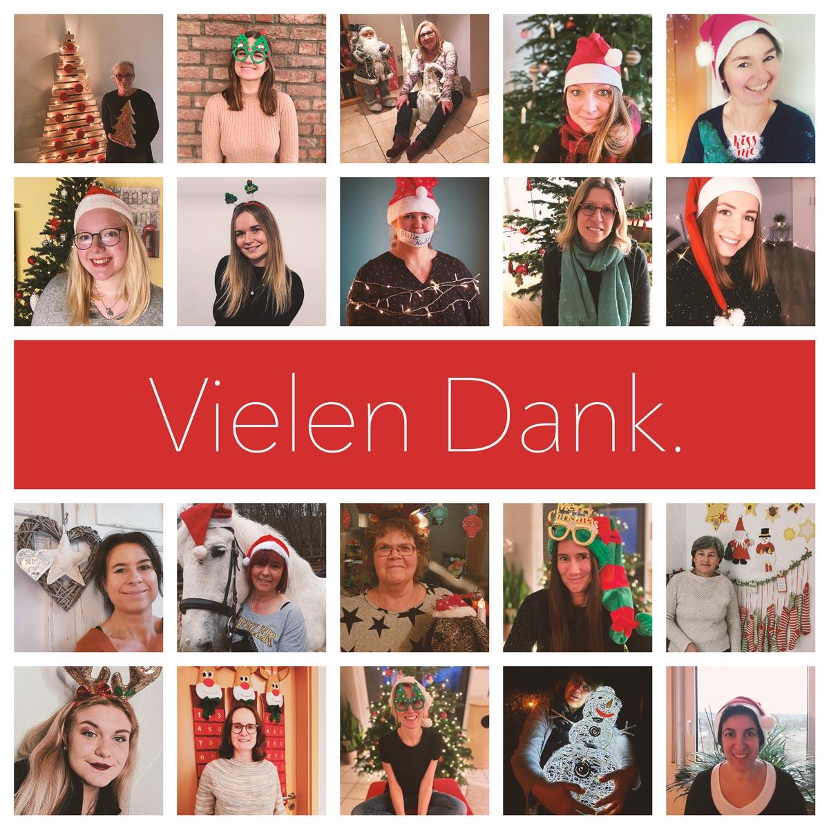 Collage mit allen Lehrerinnen und Betreuerinnen der OGGS Mausbach